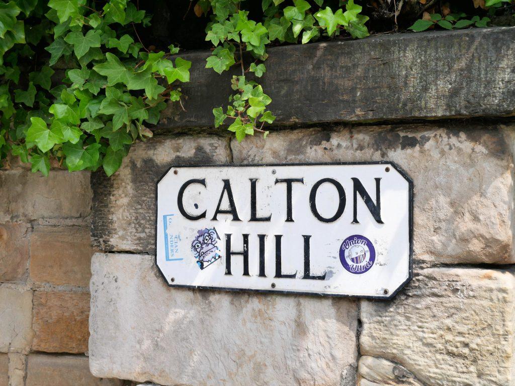 Calton Hill by Birgit Strauch