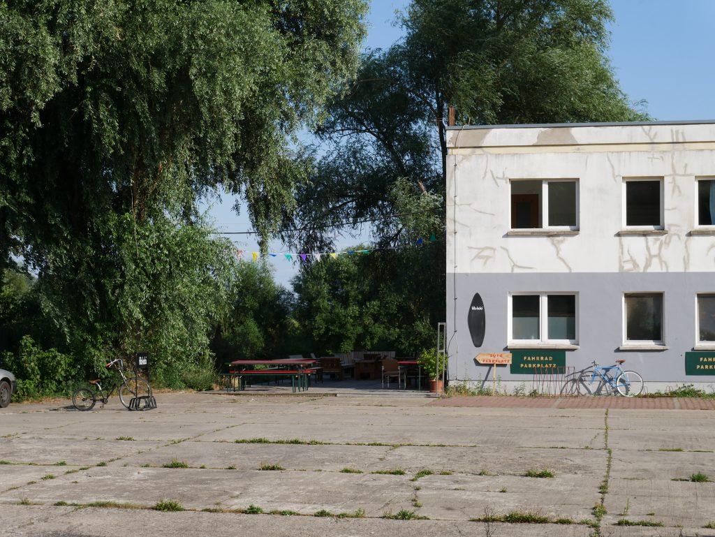 Fuchs und Hase Fahrradcafe in Stolpe by Birgit Strauch