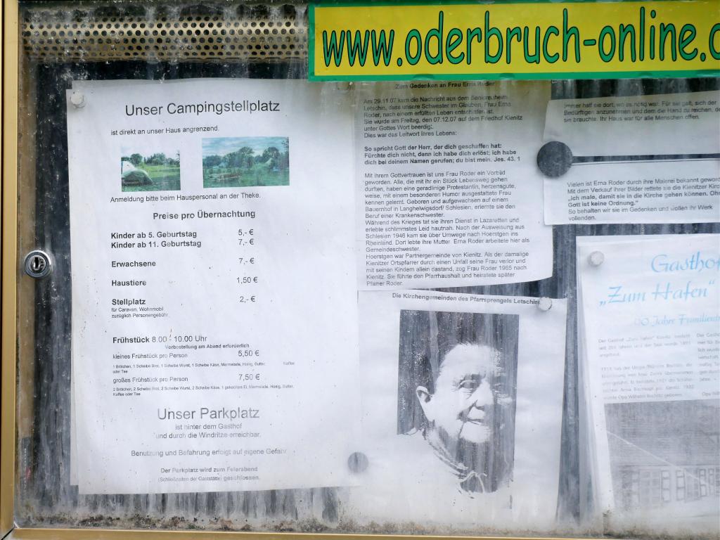 Campingplatz von Kienitz by Birgit Strauch