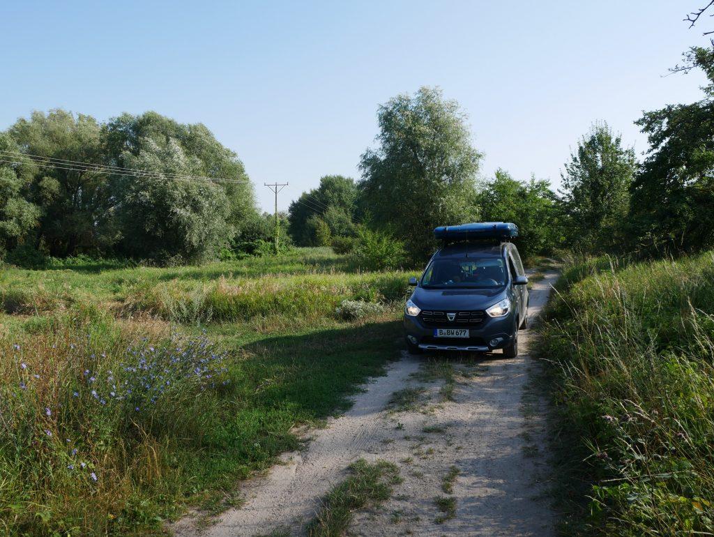 Entlang der Oder in Polen by Birgit Strauch