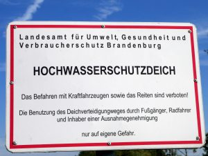 bei Kienitz Oderbruch by Birgit Strauch