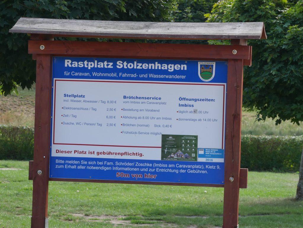 Camper Stellplatz in Stolzenhagen by Birgit Strauch