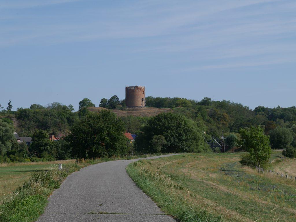 Radweg zwischen Stolpe und Stolzenhagen by Birgit Strauch