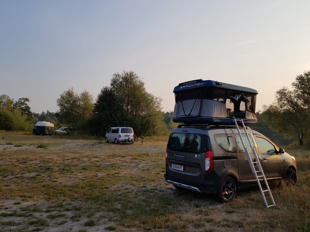 Wildcamping an der Havel by Birgit Strauch