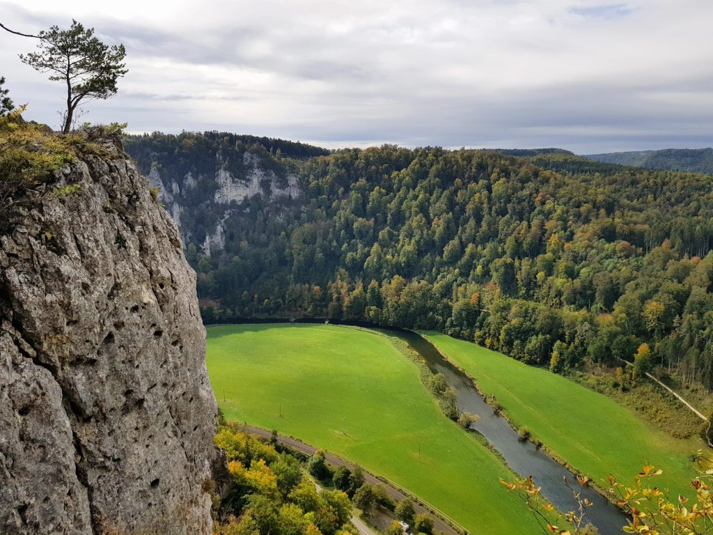 Wanderung zum Mühlenfelsen im Donautal by Birgit Strauch