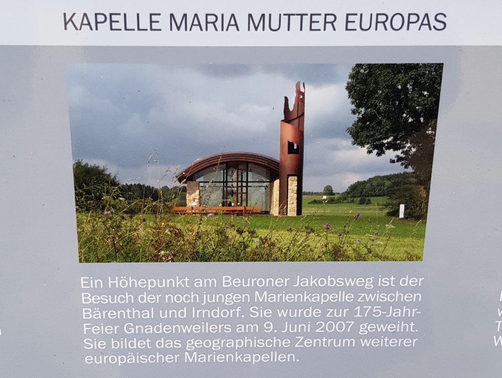 Maria Mutter Europas Kapelle by Birgit Strauch