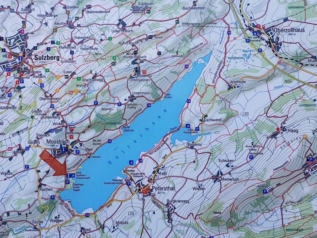 Rottachsee Oberallgäu by Birgit Strauch