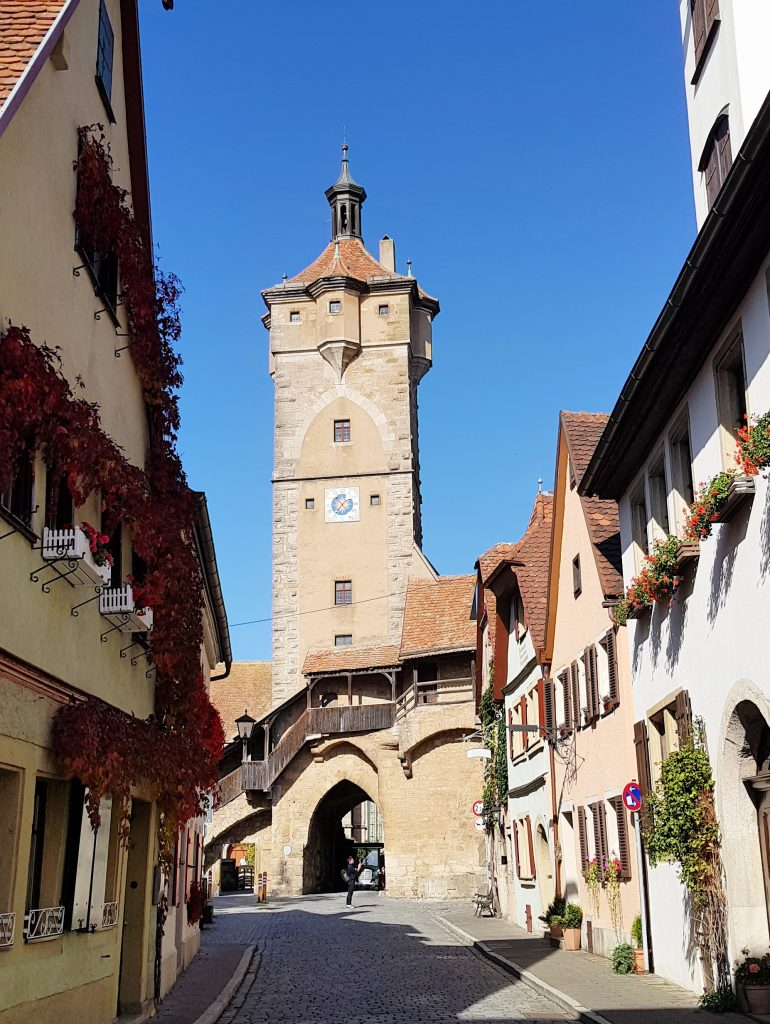 Rothenburg ob der Tauber by Birgit Strauch