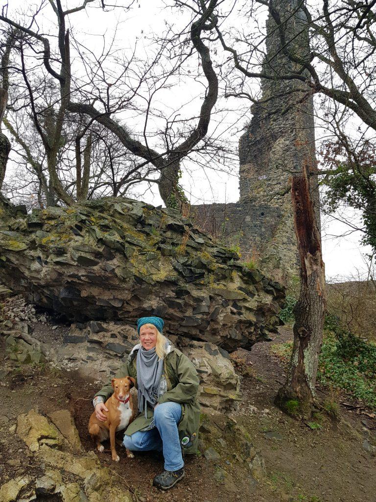 Tomburg in der Eifel