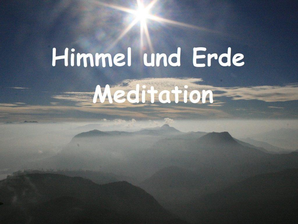 Himmel und Erde Meditation by Birgit Strauch