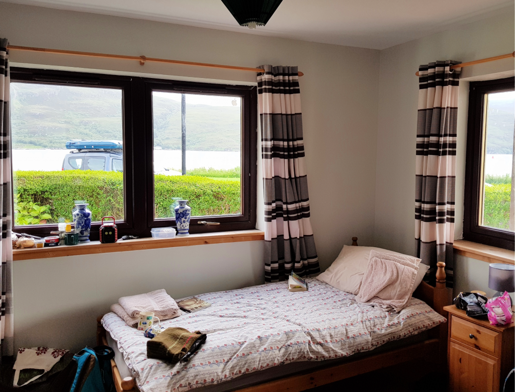 Air BnB in Ullapool by Birgit Strauch