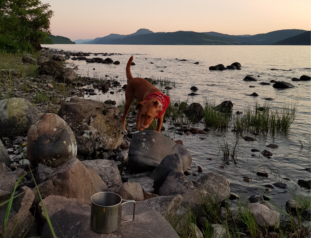 Wildcamping am Loch Ness by Birgit Strauch