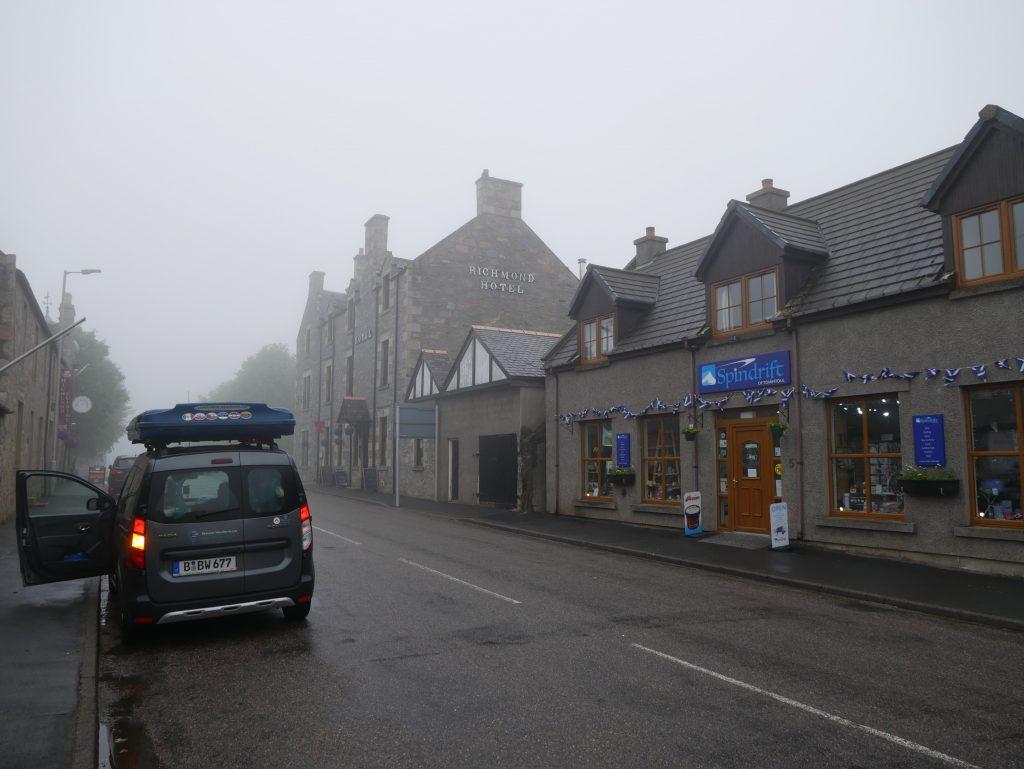 Tomintoul in Schottland by Birgit Strauch