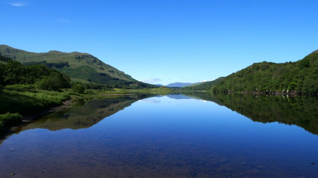 Loch Lubhair by Birgit Strauch