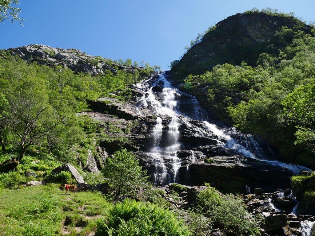 Steall Falls by Birgit Strauch