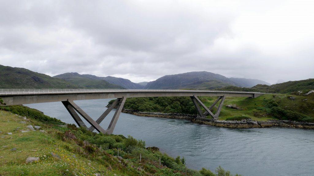Kylesku Bridge by Birgit Strauch