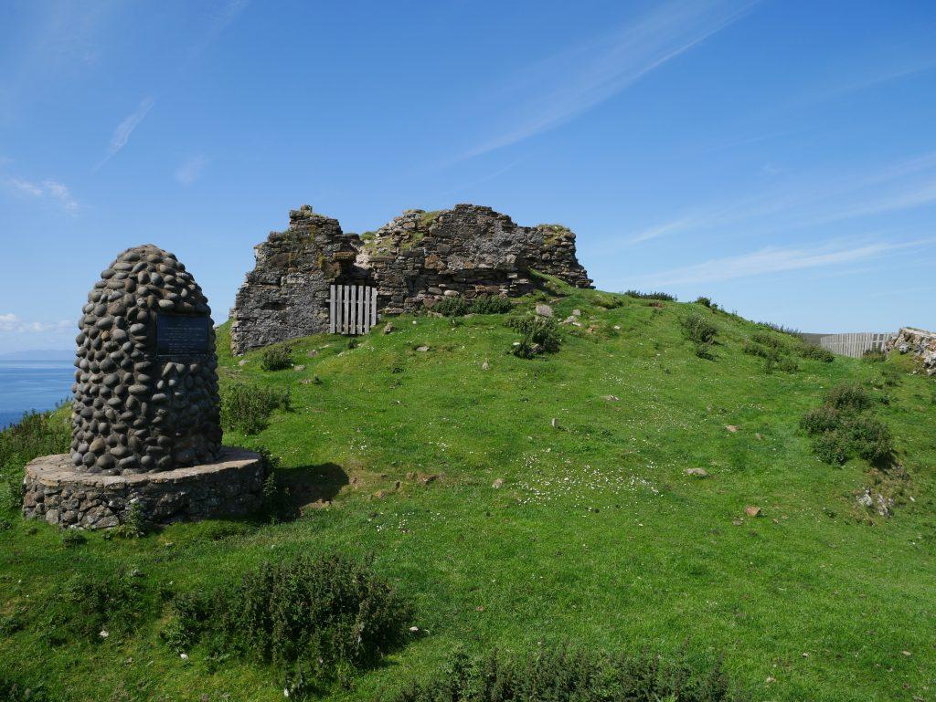 Duntum Castle by Birgit Strauch