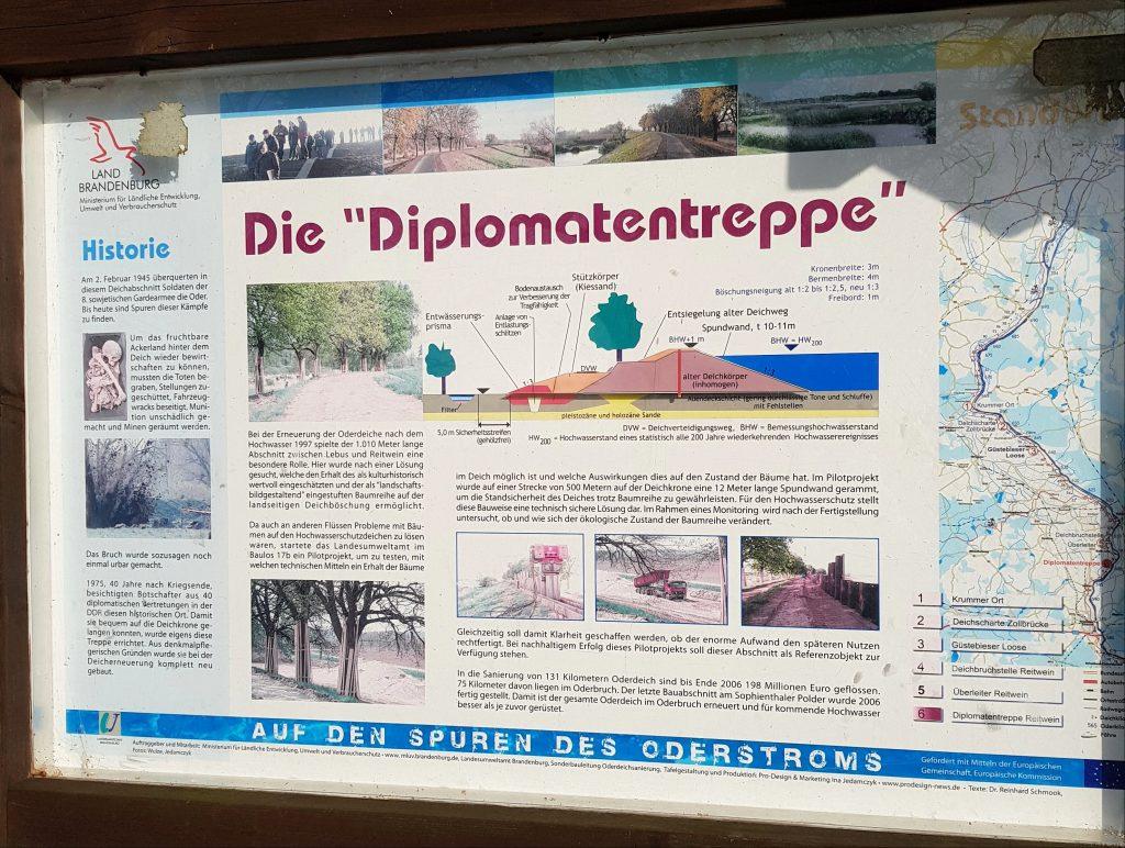 Diplomatentreppe Oder by Birgit Strauch